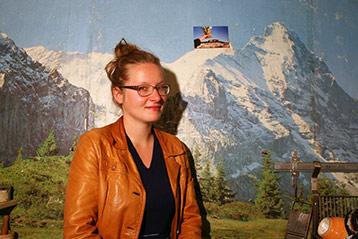 Porträt Anna Kollwitz, Goldrausch 2015