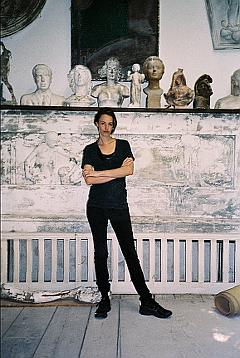 Portrait Charlotte Dualé, Goldrausch 2014