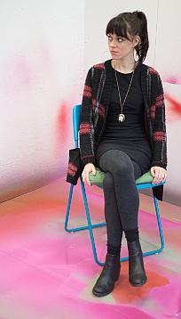 Portrait Rosemary Hogarth, Goldrausch 2014