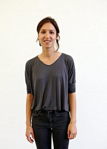 Porträt Sarra Turan, Goldrausch 2015