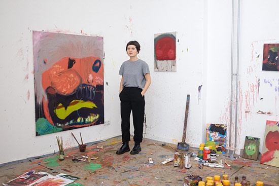 Portrait Aneta Kajzer, Goldrausch 2018