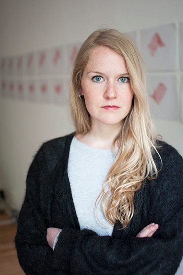 Porträt Anneke Kleimann, Goldrausch 2017