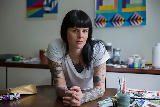 Porträt Fernanda Figueiredo, Goldrausch 2017
