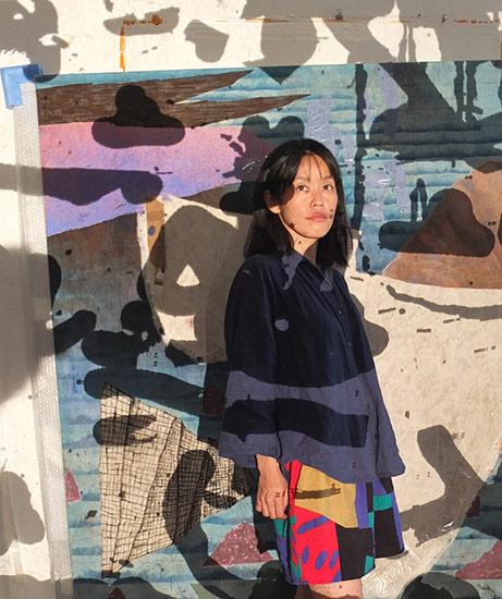 Porträt Tomoko Mori, Goldrausch 2018